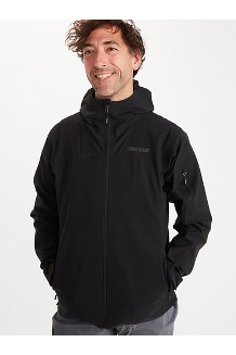 Men's Alsek Hoody, Black, medium