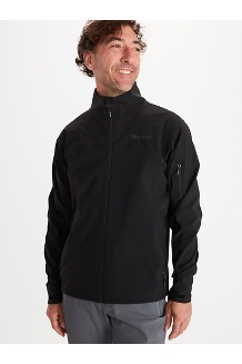 Men's Alsek Jacket, Black, medium