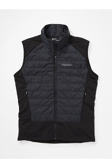 Men's Variant Hybrid Vest, Black, medium
