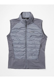 Men's Variant Hybrid Vest, Steel Onyx, medium