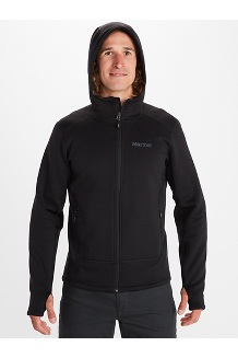 Men's Olden Polartec Power Stretch Pro Hoody, Black, medium