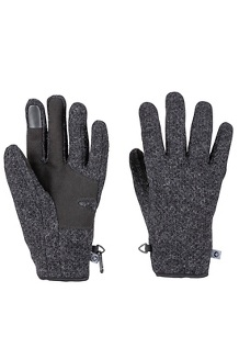 Men's Bekman Gloves, Charcoal Heather, medium