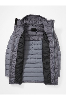 Men's Alassian Featherless Parka, Steel Onyx, medium
