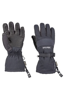 Men's Randonnee Gloves, Black, medium