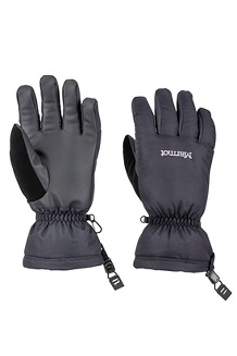 Men's On Piste Gloves, Black, medium