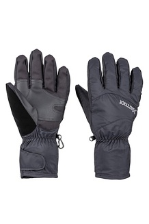 Men's PreCip Undercuff Gloves, Black, medium