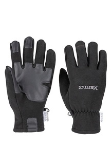 Men's Infinium Windstopper Gloves, Black, medium