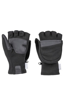 Men's Infinium Windstopper Mitts, Black, medium