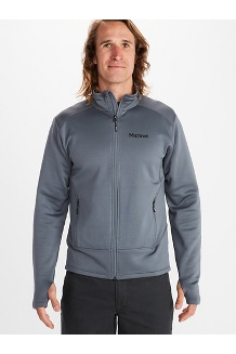 Men's Olden Polartec Jacket, Steel Onyx, medium