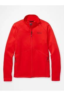 Women's Olden Polartec Jacket, Victory Red, medium
