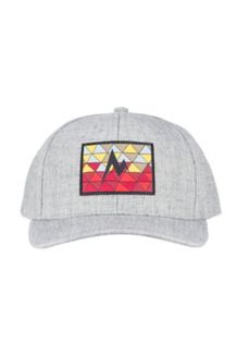 Poincenot Hat, Grey Storm Heather/Sienna Red, medium