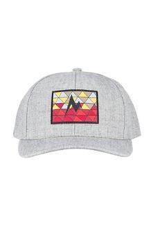 Poincenot Hat, Grey Storm Heather/Sienna Red, medium