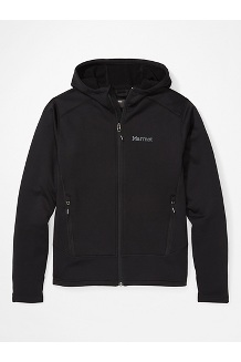 Men's Olden Polartec Hoody, Black, medium