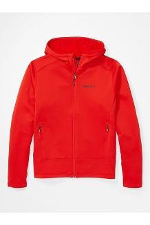 Men's Olden Polartec Hoody, Victory Red, medium