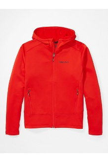 Men's Olden Polartec Hoody, Victory Red, medium
