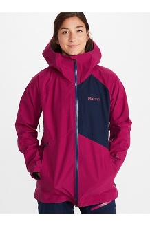 Women's JM Pro Jacket, Wild Rose/Arctic Navy, medium
