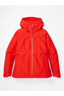 Women's Cropp River Jacket, Victory Red, medium