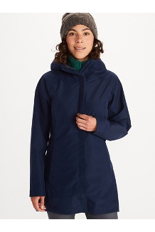 Women's Essential Jacket, Arctic Navy, medium