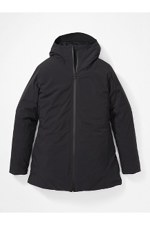 Women's WarmCube EVODry Parka, Black, medium