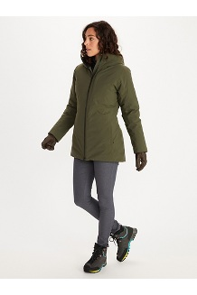 Women's WarmCube EVODry Parka, Nori, medium