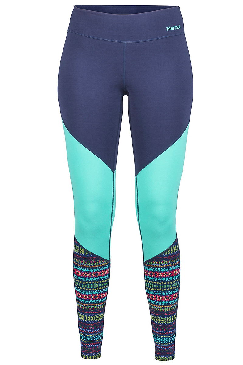Wm's Lana Tight, Arctic Navy/Totem, large