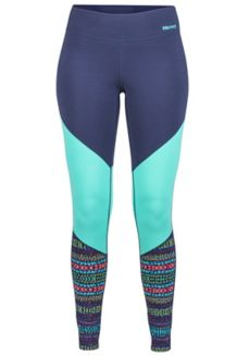Wm's Lana Tight, Arctic Navy/Totem, medium