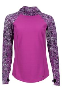 Wm's Meghan Hoody, Purple Orchid/Flurry, medium