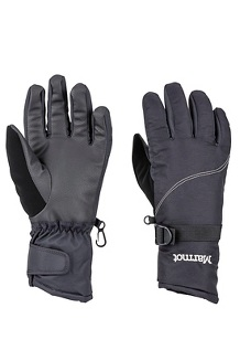 Women's On Piste Gloves, Black, medium