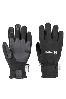 Women's Infinium Windstopper Gloves, Black, medium
