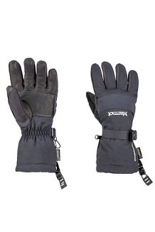 Women's Randonnee Gloves, Black, medium