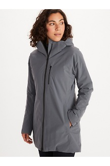 Women's EVODry Riverfront Parka, Steel Onyx, medium