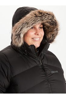 Women's Montreal Coat Plus, Black, medium