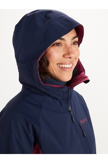 Women's ROM 2.0 Hoody, Arctic Navy/Wild Rose, medium