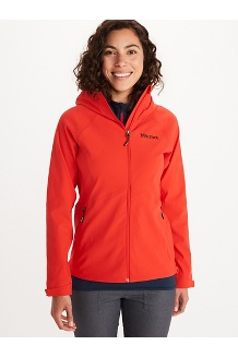 Women's Alsek Hoody, Victory Red, medium