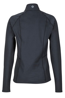 Women's Heavyweight Nicole 1/2 Zip, Black, medium