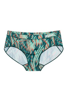 Women's Performance Hipster, Deep Teal Splash, medium