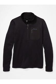Women's Olden Polartec ½-Zip Jacket, Black, medium
