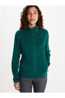Women's Flashpoint Fleece Jacket, Botanical Garden, medium