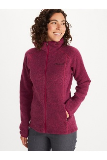 Women's Torla Hoody, Wild Rose, medium
