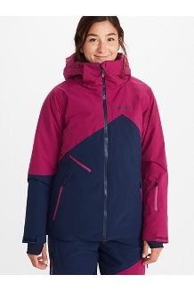 Women's Pace Jacket, Arctic Navy/Wild Rose, medium