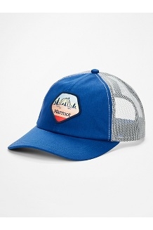 Women's Kira Trucker Hat, Classic Blue/White, medium