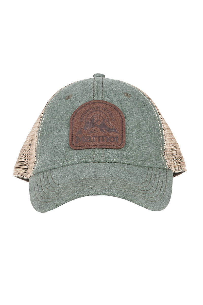 brand new a9a69 3177e Alpine Soft Mesh Trucker Hat, Altitude Rosin Green, large