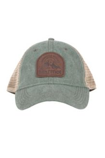 Alpine Soft Mesh Trucker Hat, Altitude Rosin Green, medium