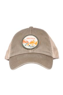 Alpine Soft Mesh Trucker Hat, Perimeter Cavern, medium