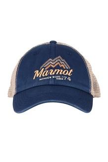 Alpine Soft Mesh Trucker Hat, Beams Vintage Navy, medium