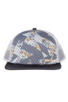 Cadence Trucker Hat, Dark Steel/Black, medium