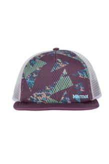 Cadence Trucker Hat, Burgundy/Dark Purple, medium