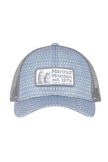 Marmot Angles Trucker Hat, Grey Storm, medium