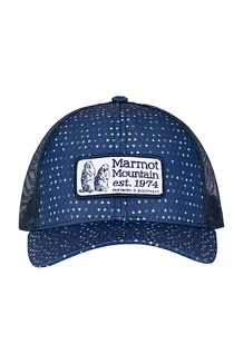 Marmot Angles Trucker Hat, Arctic Navy, medium