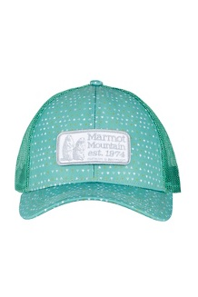 Marmot Angles Trucker Hat, Pond Green, medium